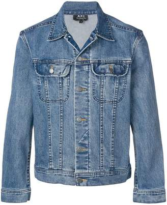 A.P.C. fitted denim jacket