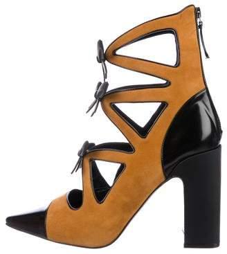 Fabrizio Viti Take A Bow Ankle Boots w/ Tags