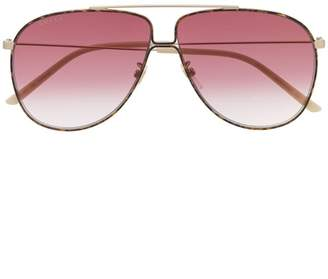 334bba78a6462 Gucci Tortoise Sunglasses - ShopStyle UK