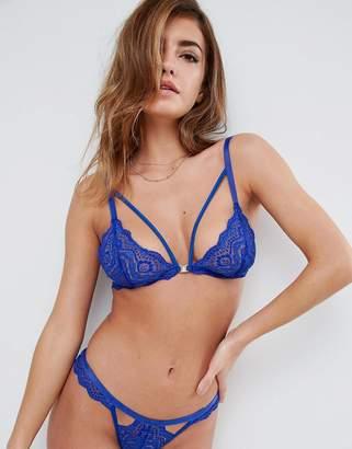 Asos Design Malin Lace Triangle Bra