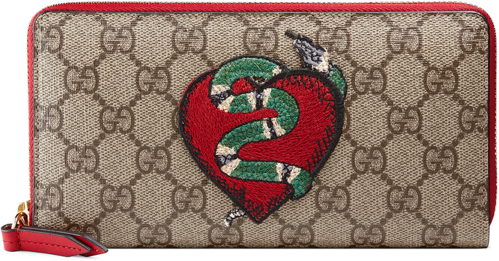 Gucci Limited Edition zip around wallet