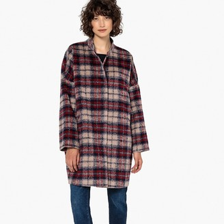 La Redoute COLLECTIONS Mid-Length Checked Coat