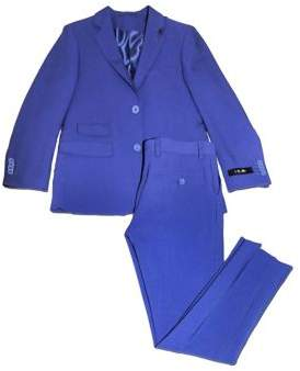 Ike Behar IKE by Little Boy's Two-Piece Classic Suit Jacket and Pants Set