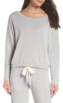 Eberjey Winter Heather Knit Pajama Top