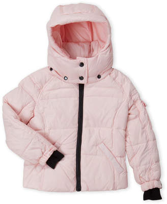 S13 Toddler Girls) Mogul Down Hooded Coat