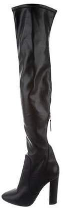 Aquazzura Leather Over-The-Knee Boots