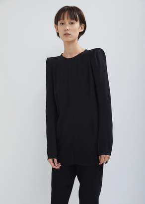 Ann Demeulemeester Ania Constructed Shoulder Top