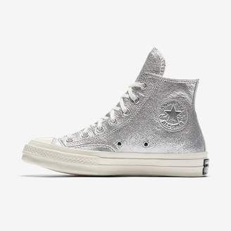 Converse Chuck 70 Heavy Metallic Leather High Top Womens Shoe