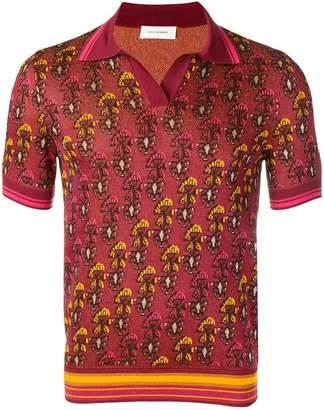 Wales Bonner jacquard polo shirt