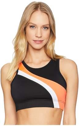 Jessica Simpson TheWarmUp Asymmetrical Sports Bra Women's Bra