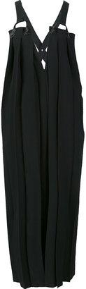 Yohji Yamamoto front pleat dress $2,298 thestylecure.com