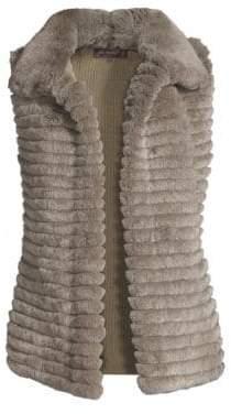 Glamour Puss Glamourpuss Rex Rabbit Fur Vest