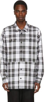 Off-White Black and White Check Shirt