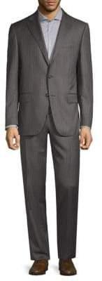 Caruso Pinstripe Wool Suit