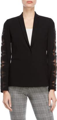 Elie Tahari Black Darcy Jacket