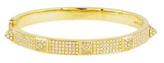 Anita Ko 18K Diamond Spike Oval Bracelet