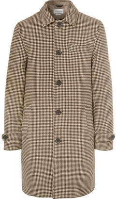 Oliver Spencer Beaumont Houndstooth Wool Coat