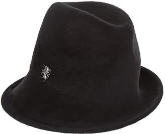Philip Treacy Velvet Embellished Trilby Hat