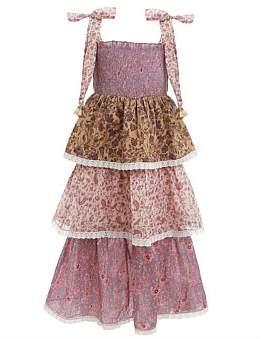 Zimmermann Juniper Shirred Tiered Dress