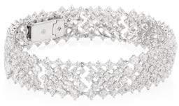 Adriana Orsini Leia Swarovski Crystal Flex Bracelet