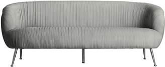 Darcy And Duke Perugia Velvet 3 Seater Sofa Charcoal