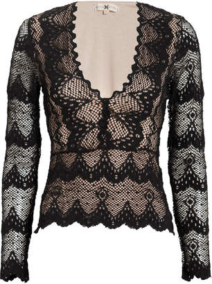Nightcap Clothing Stretch Lace Top