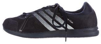 Yohji Yamamoto Mesh Lace-Up Sneakers $75 thestylecure.com