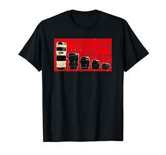 Vintage Photographer DSLR Camera Lens Shutterbug Retro T-Shirt