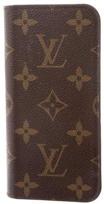 Louis Vuitton 2017 Monogram iPhone 7 Plus Folio
