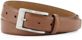 Neiman Marcus Leather 32MM Buckle Belt, Tan
