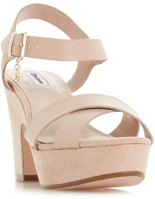 clearance latest collections Light pink suede 'Mariianna' mid block heel ankle strap sandals purchase for sale hot sale cheap price cheap low shipping fee XFYZ3d