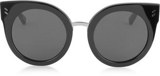 Stella McCartney SC0036S Round Cat Eye Acetate Women's Sunglasses