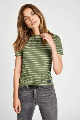 Jack Wills Ranmoor Stripe Ringer T-Shirt