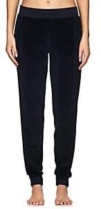 Electric & Rose Women's Chase Cotton-Blend Velour Jogger Pants - Navy