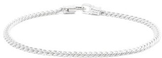 Tom Wood - Curb Chain Sterling Silver Bracelet - Mens - Silver