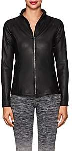 Electric Yoga WOMEN'S COIL TECH-JERSEY JACKET - BLACK SIZE M