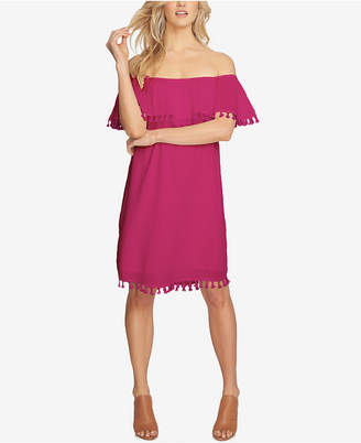 1.state Off-The-Shoulder Shift Dress $119 thestylecure.com