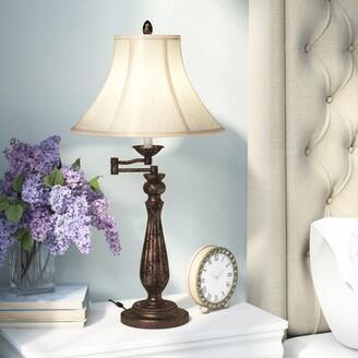 "Charlton Home Adah Swing Arm 30"" Table Lamp Charlton Home"