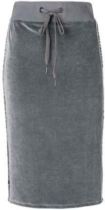 Iceberg jersey pencil skirt