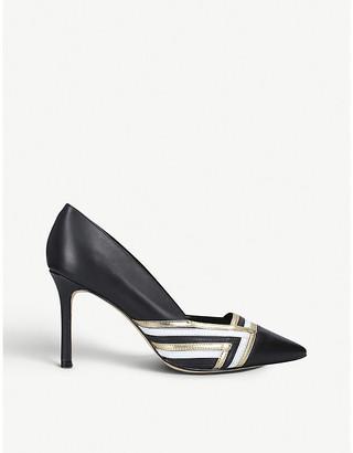 Nine West Faux-leather court shoes