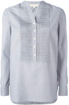 MICHAEL Michael Kors mandarin neck tunic