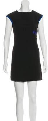 Versus Appliqué Mini Dress