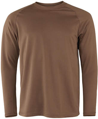 Asstd National Brand Military Fleece Crew Neck Long Sleeve Thermal Shirt