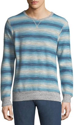 Faherty Men's Reversible Crewneck Sweatshirt