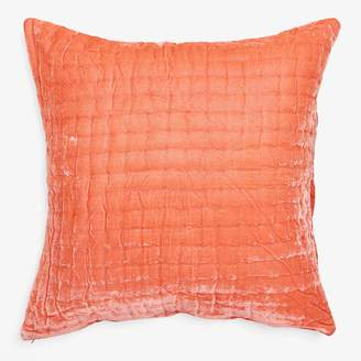 abcDNA Luminous Quilted Pillow Persimmon