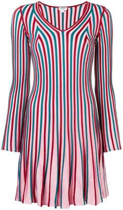 Kenzo striped ribbed dress