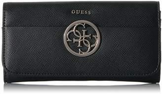 GUESS Kamryn Large Flap Organizer Wallet BLA