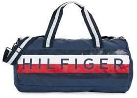 Tommy Hilfiger Logo Global Stripe Duffel Bag