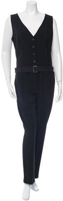 Alice by Temperley Sleeveless Belted Jumpsuit $95 thestylecure.com