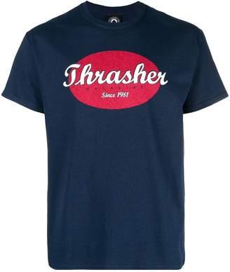 Thrasher logo print T-shirt
